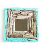 DIY Driftwood Mirror by designdininganddiapers.com
