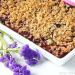 Triple Berry Crisp by Design, Dining + Diapers
