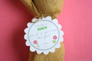 Thanks A Bunch! Teacher Appreciation Gift Idea