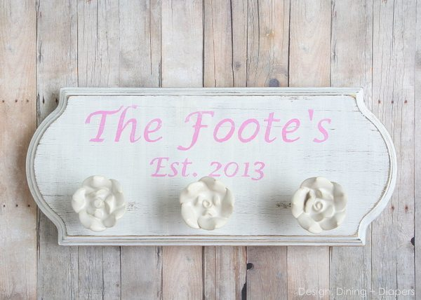 Wedding Gift Ideas For Relatives : Wedding Gift Idea: Custom Family Signs - Design, Dining + Diapers