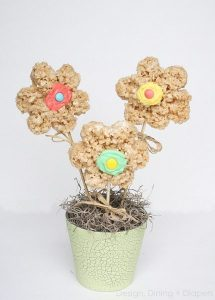Rice Krispie Treat Bouquet