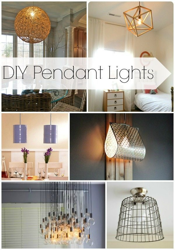 DIY Pendant Lights - Design, Dining + Diapers