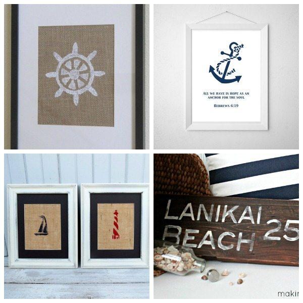 Diy Nautical Decor Ideas 4