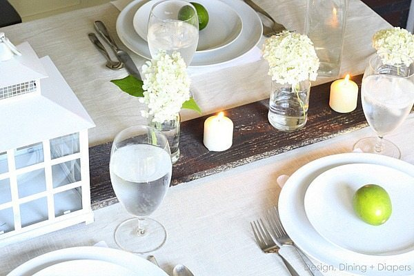 Rustic Summer Tablescape via @Tarynatddd