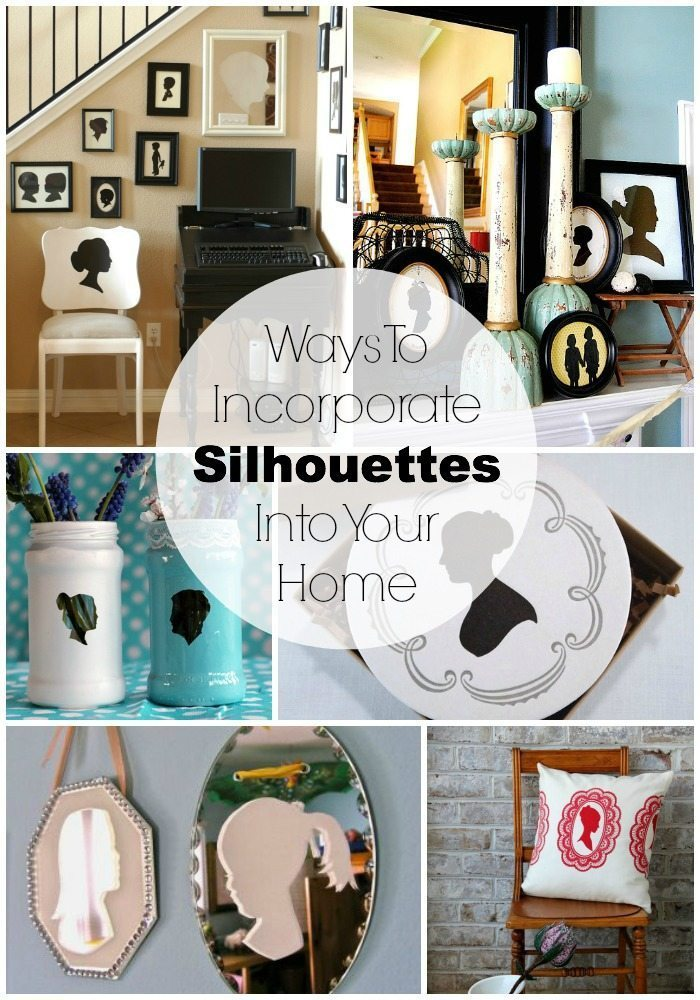 Ways to incorporate silhouettes into your home