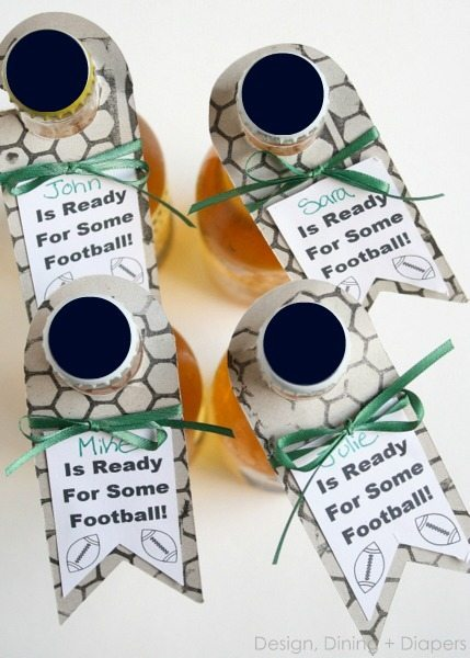 Custom Bottle Tags For Tailgating - So you never lose track of your drink!