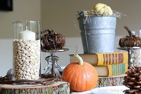 Eclectic Fall Tablescape via @tarynatddd