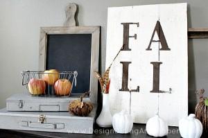 Rustic Fall Sign Tutorial
