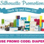Deal Alert: 25% Off ALL Silhouette Consumables!