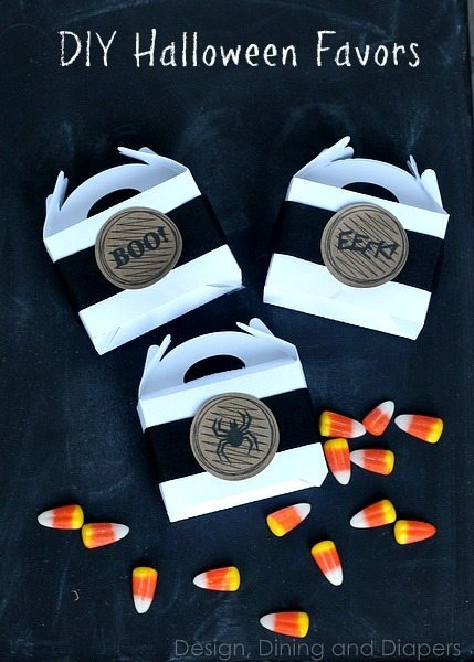 DIY Halloween Favors via @tarynatddd #Silhouette