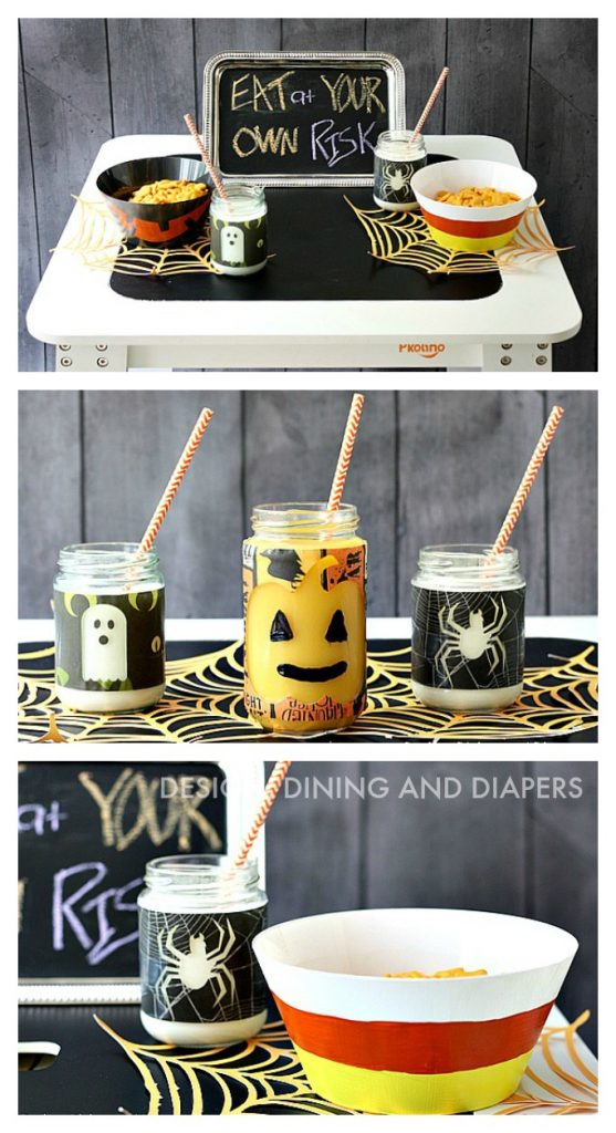 HALLOWEEN KIDS TABLE IDEAS