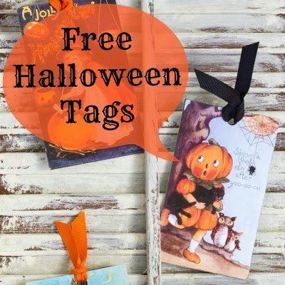 Halloween Tags Title