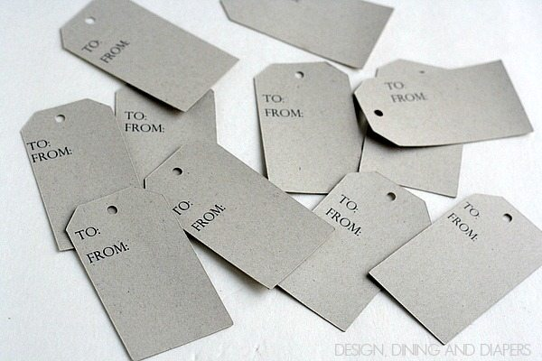 Chipboard Gift Tags 2
