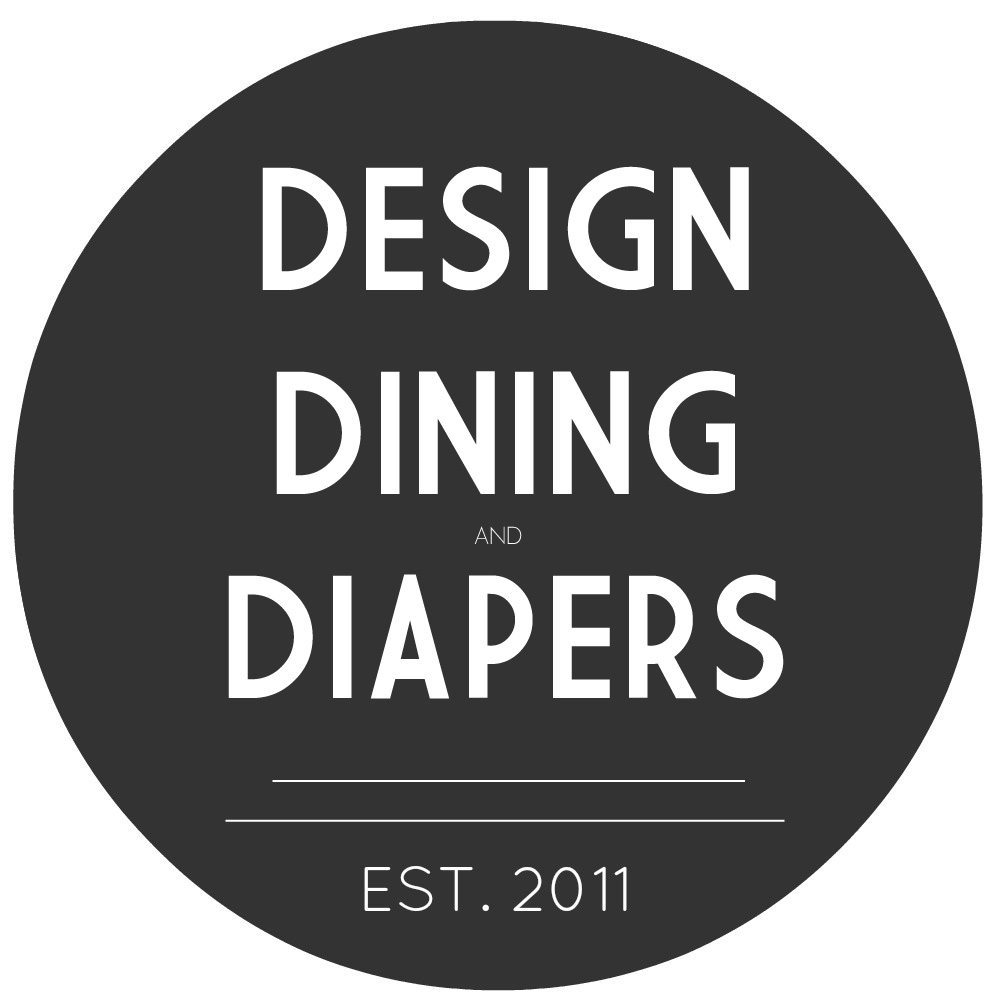 Grab button for Design, Dining and Diapers