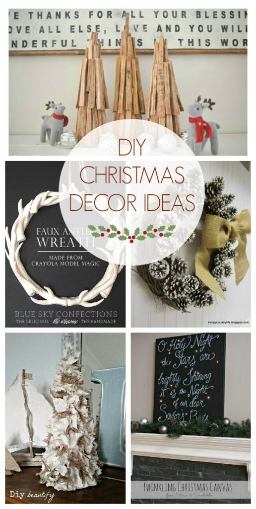 DIY Christmas Decor Ideas (Link Party Features) - Design, Dining ...