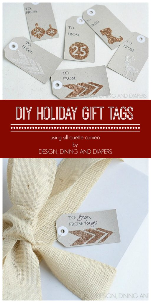 DIY Christmas Gift Tags with tutorial via @Tarynatddd