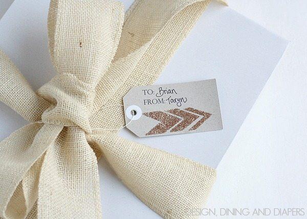 DIY Gift Tags via @Tarynatddd