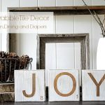 Joy Scrabble Tile Decorations
