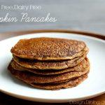 Mouthwatering Gluten Free Dairy Free Pumpkin Pancakes