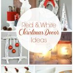 Red And White Christmas Decorations