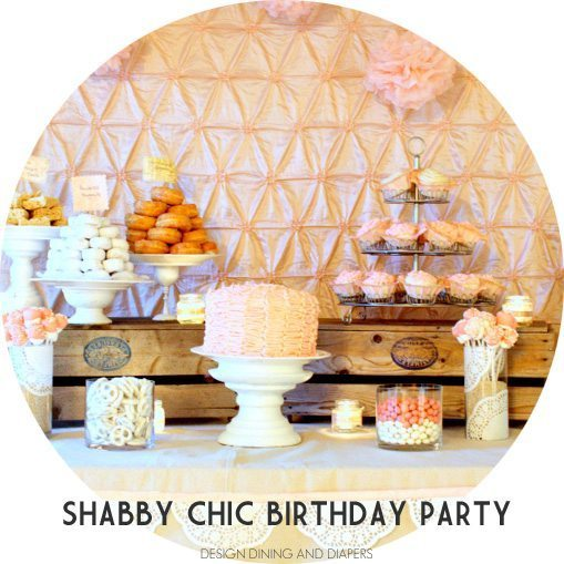 Shabby Chic Sweet Shop Spread