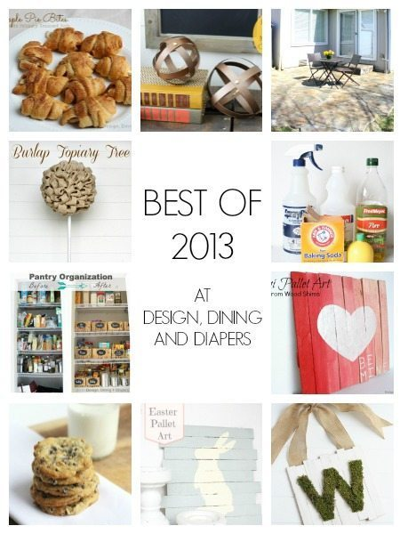 BEST OF 2013 AT DESIGN, DINING AND DIAPERS
