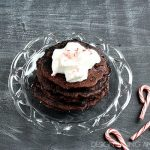 Chocolate Peppermint Pancakes