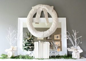 Winter White Vignette