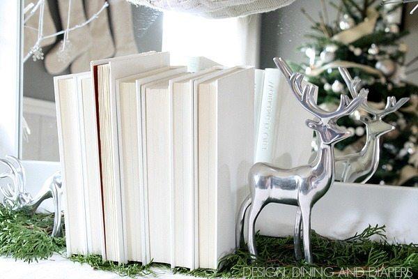 Winter White Vignette via @tarynatddd