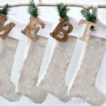 Drop Cloth and Sweater Stockings