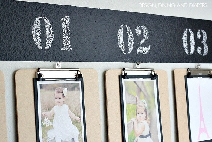 Clipboard Photo Display! Also a fun timeline )