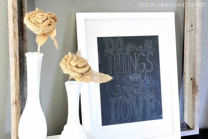 Faux Chalkboard Print Using Silhouette Sketch Pens! designdininganddiapers.com