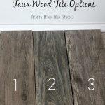Kitchen Progress: Picking Out Faux Wood Tile