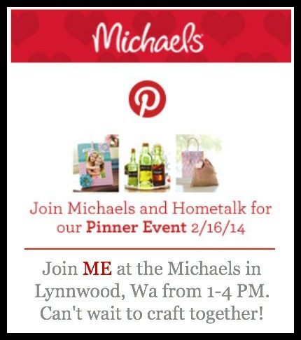 Michaels and Hometalk Pinterest Party
