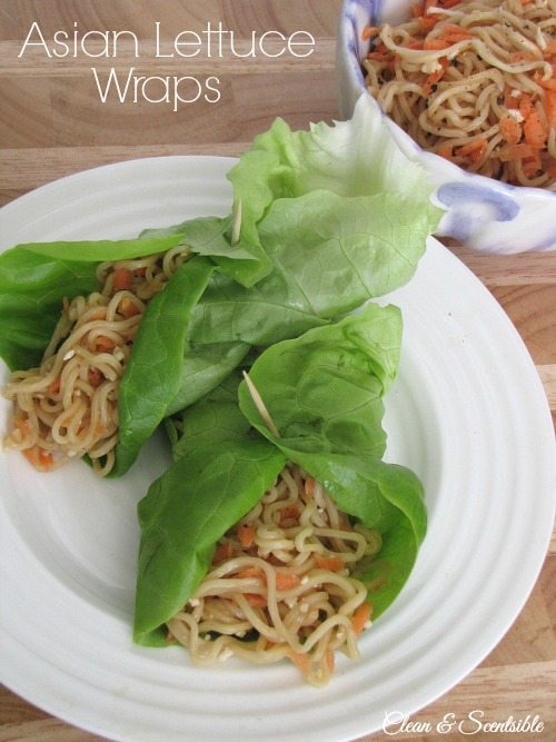 Asian-Lettuce-Wraps-Clean-and-Scentsible