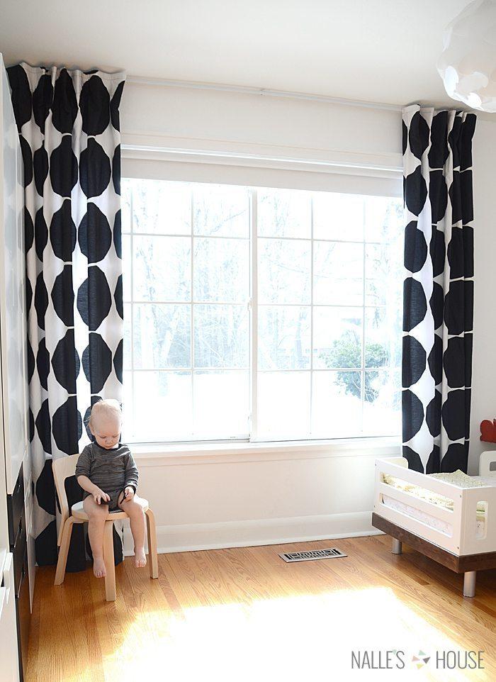 diy marimekko curtains 1