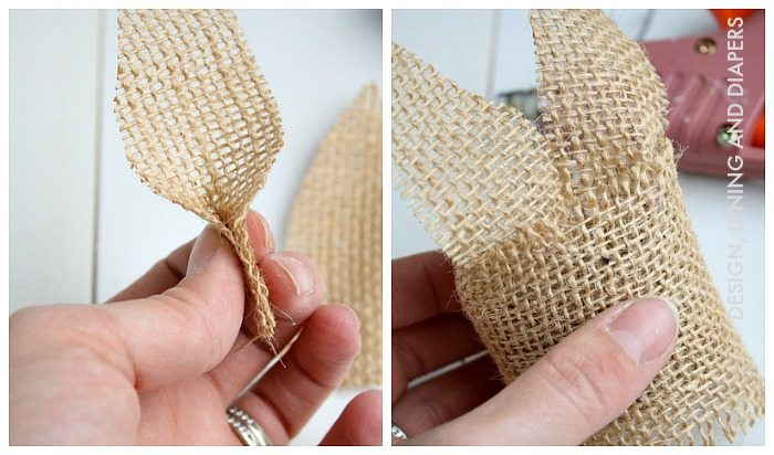 Bunny Napkin Ring How-To
