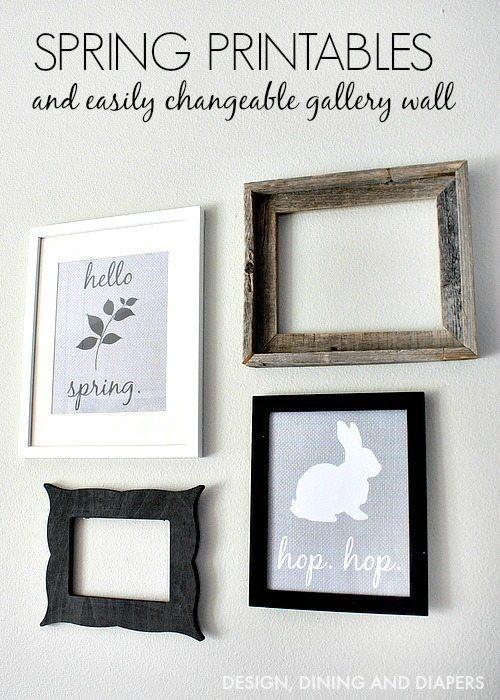 FREE Spring Printables! via designdininganddiapers.com