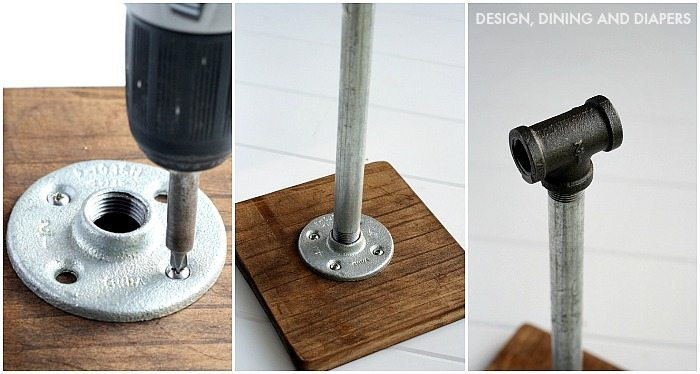 Industrial Paper Towel Holder Tutorial