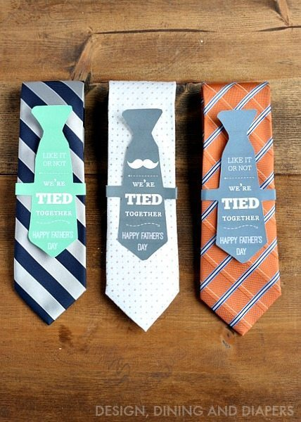Father's Day Gift Idea and Free Printable via @tarynatddd