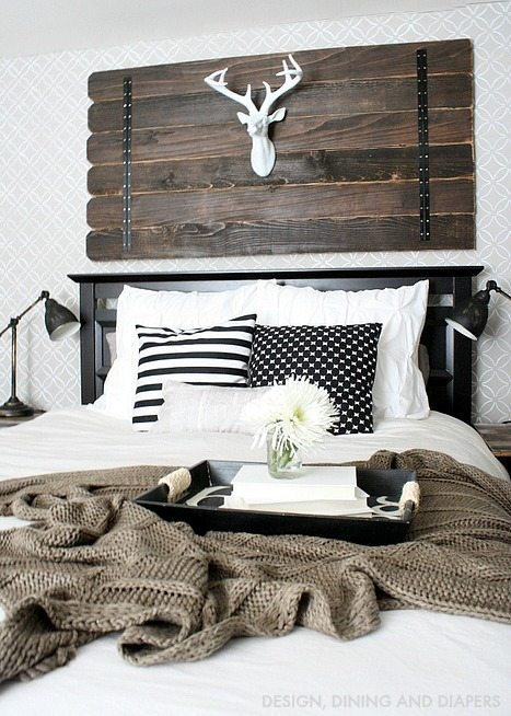 Modern Farmhouse Bedroom!