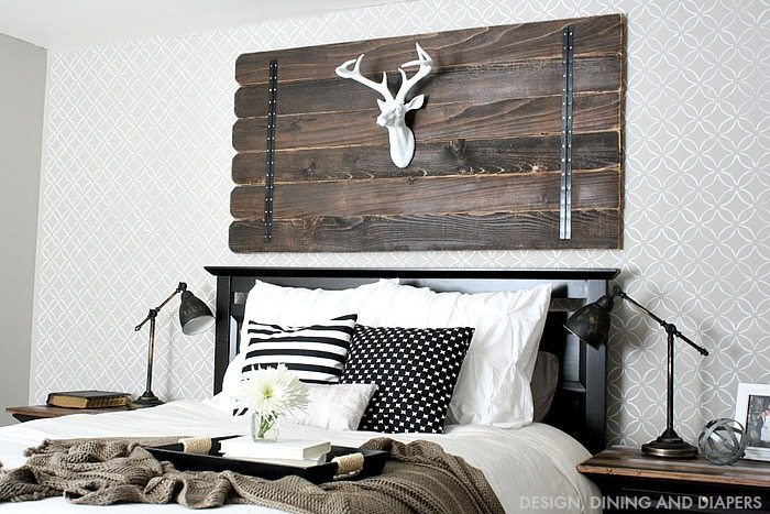 Modern Farmhouse Bedroom Updates
