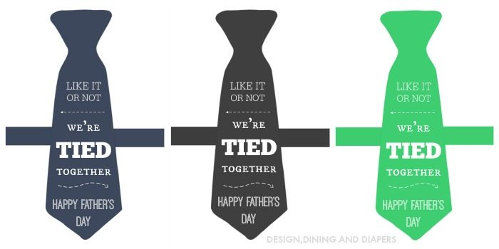 WE'RE TIED TOGETHER PRINTABLES