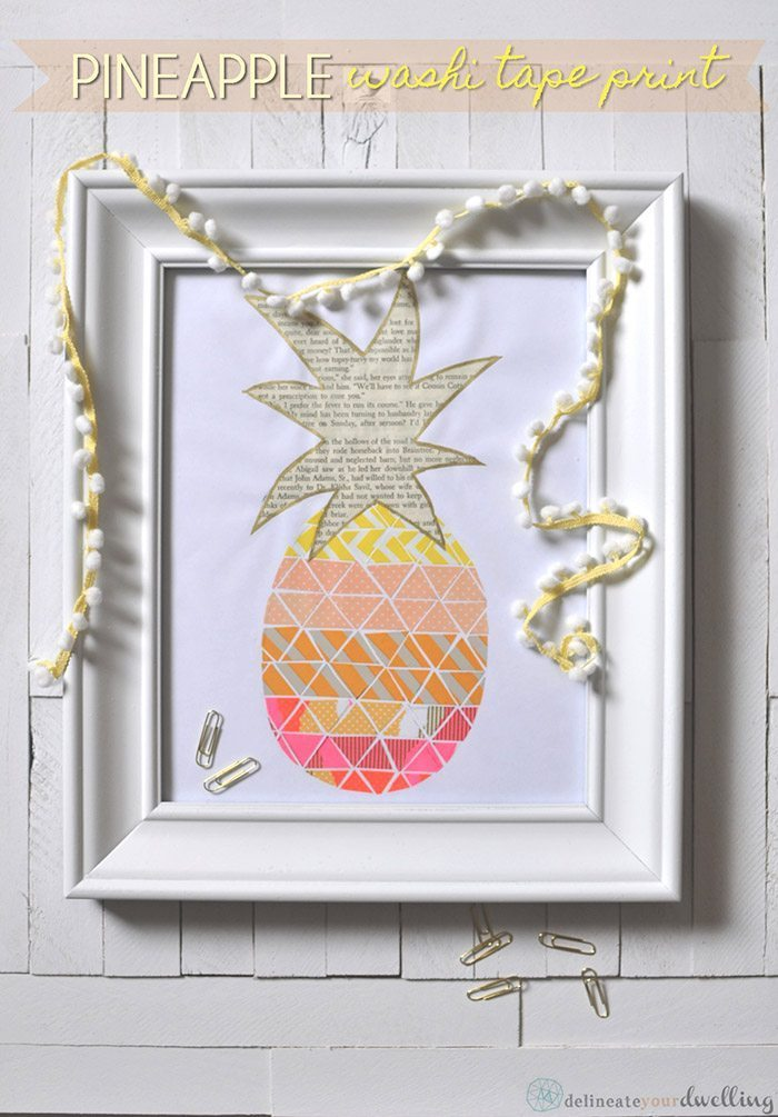 1 Pineapple Print | Delineate Your Dwelling