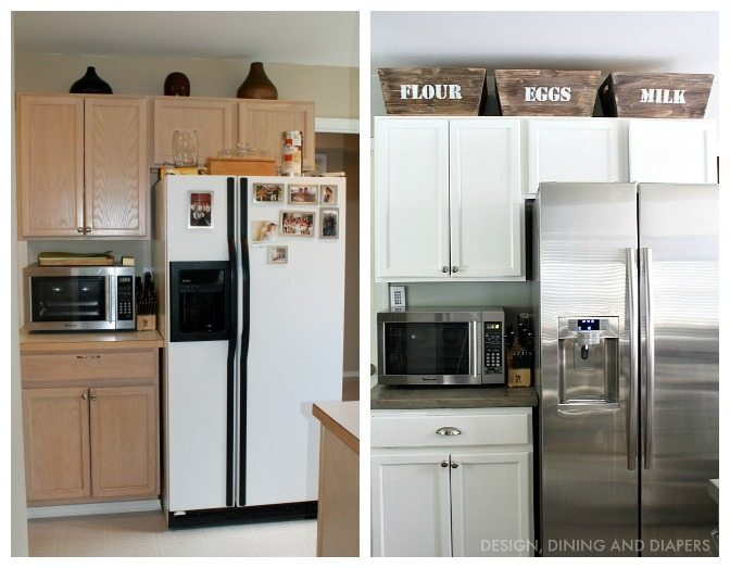 Small Kitchen Remodel With A Modern Farmhouse Style