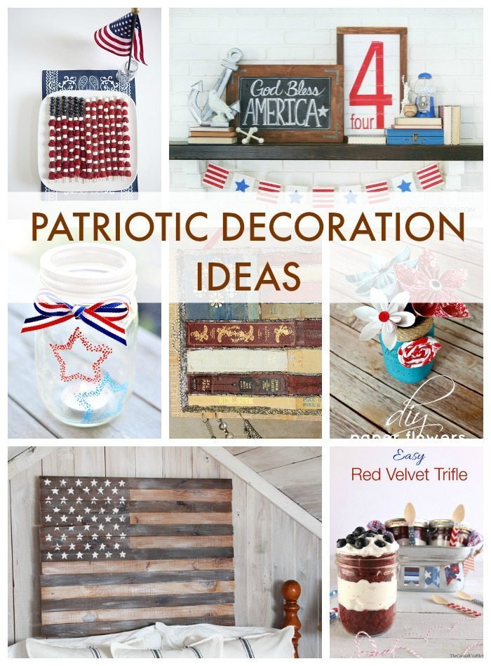 patriotic decorations for home images patriotic home decor 183 craft walks