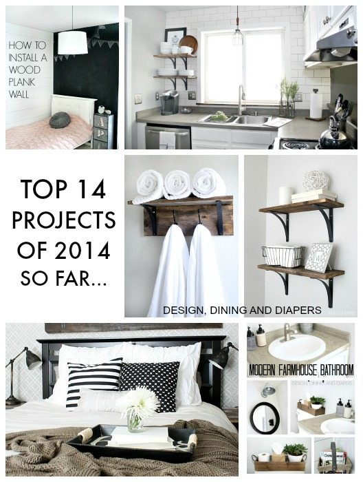 TOP 14 Projects of 2014 So far.. on Designdininganddiapers.com