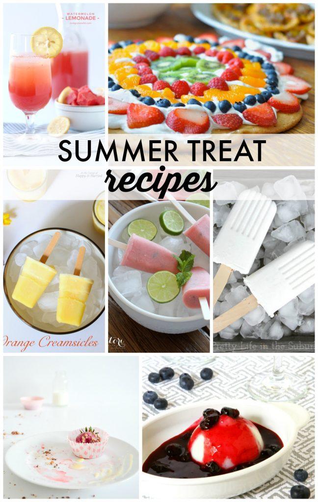 Summer Treat Recipes!