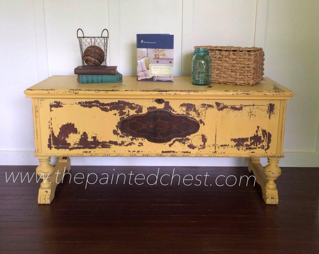 20140614-mustard seed yellow cedar chest
