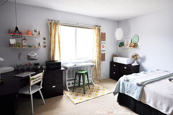 7 guest room + office makeover